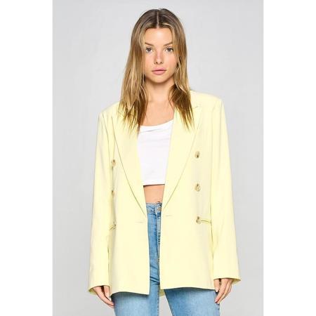 Lola Claire Blazer - Yellow