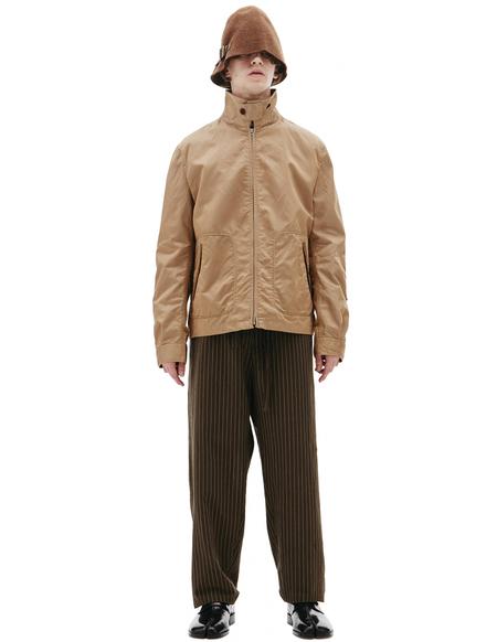 Junya Watanabe Brown Zipped Jacket