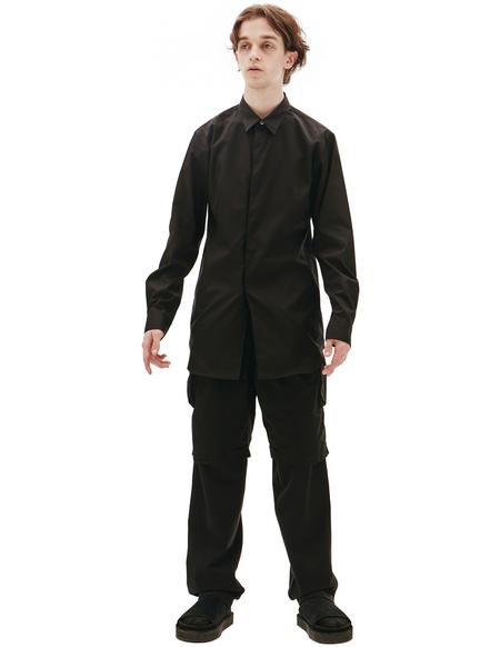 Comme des Garcons Homme plus Black Cotton Shirt