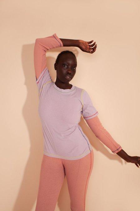 L.F.Markey Hassan T Shirt Top - Lilac