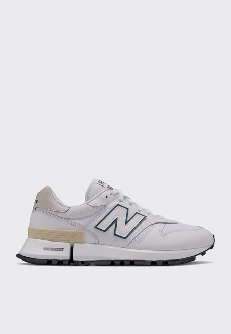 New Balance Green Logo Pack Shoes - white/teal
