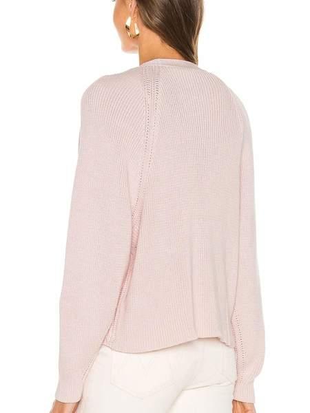 Autumn Cashmere Oversized Boxy V Shaker Cardigan - Ballerina Pink