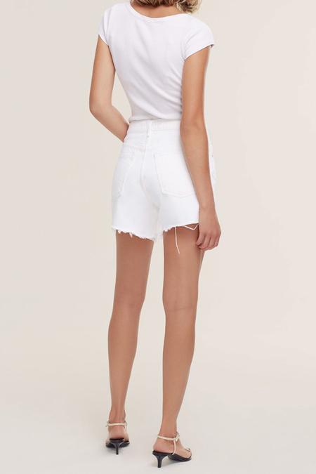 Vintage Agolde Parker Long Short - Panna Cotta