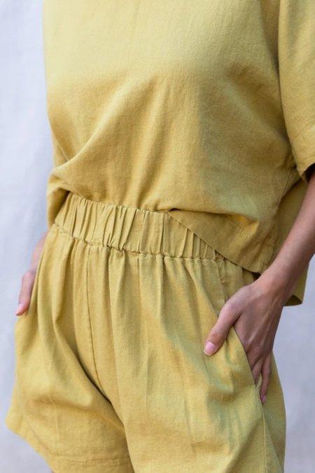 Gracemade Rhoda Shorts -  Avocado