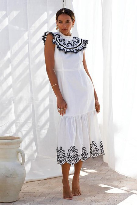 NEVER FULLY DRESSED Indie Embroidered Dress