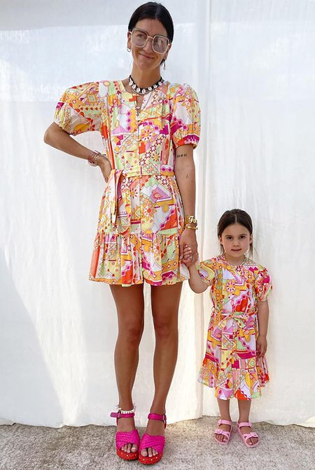 KIDS NEVER FULLY DRESSED NFD Lola Dress - MULTI