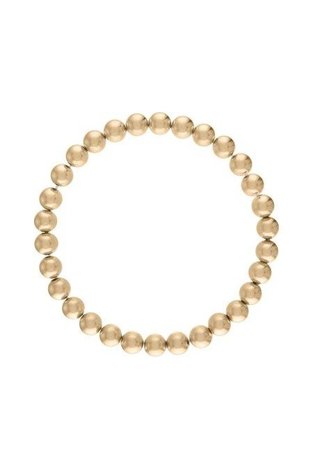 Alexa Leigh 6MM Ball Bracelet - Gold