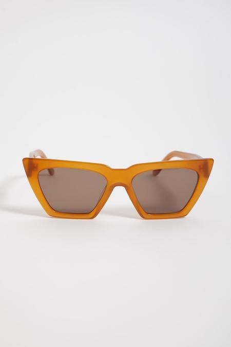 CARLA COLOUR Modan Sunglasses - Amber