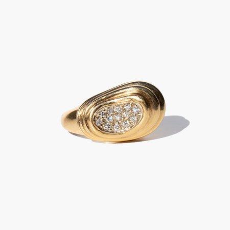 Kindred Black Barlow Ring - Gold