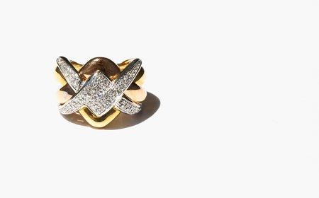 Kindred Black Ponthieu Ring - 18k white