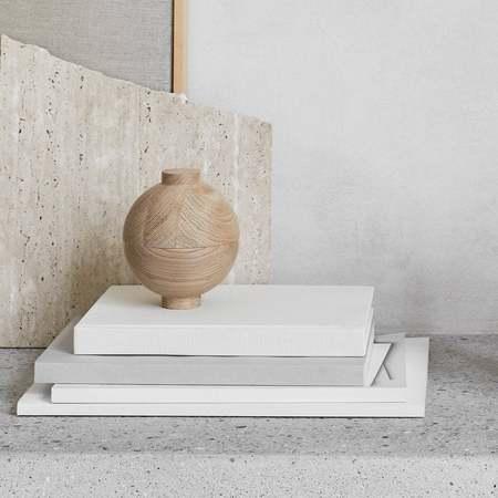 Kristina Dam XL Wooden Sphere Pot