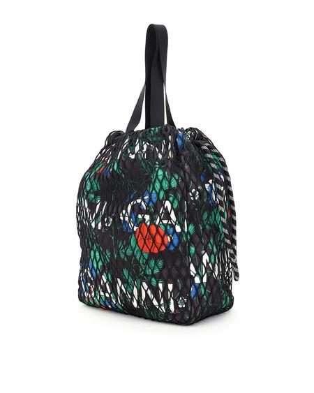 Ganni Floral Fabric Tote Bag - Multicolor