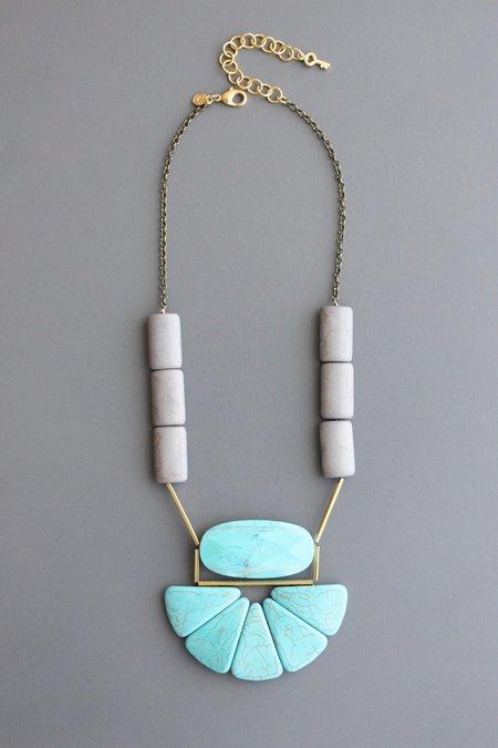 David Aubrey Inc Stone Collar Necklace