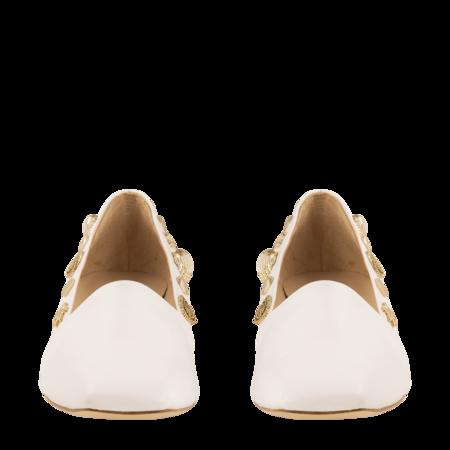 Rejina Pyo Cecilia leather Heels - White