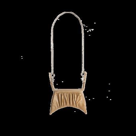Charlotte Knowles Dusty Tan Croc Hydra Bag - Dusty Tan
