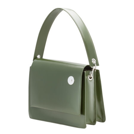KARA Pinch Shoulder Bag - Green