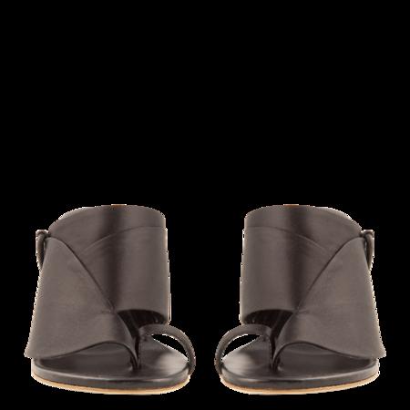Esteban Cortazar Satin Detail High Heel Sandals - Black