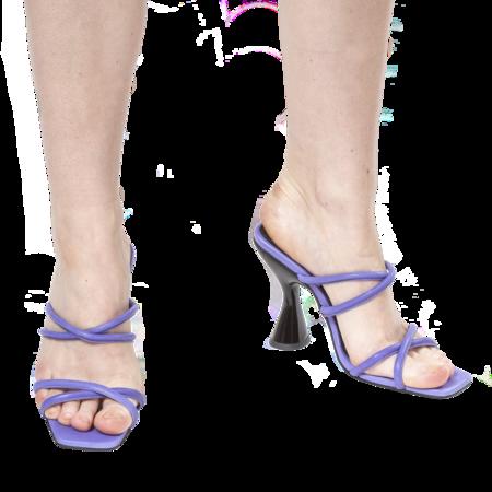 DORATEYMUR  Stainless Sandal - Purple