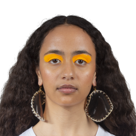 Veronique Leroy Suspended Earrings - Beige