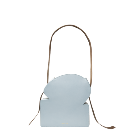 Rejina Pyo LeatherToastie body Bag - Blue