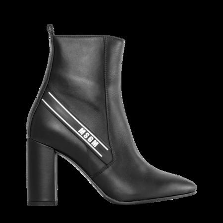 MSGM Tronchetto Donna Ankle Boots - Black