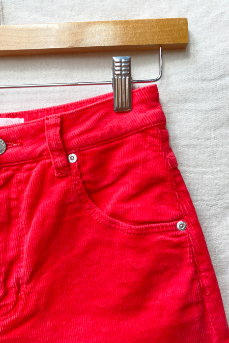 ROLLAS Duster Short - Red