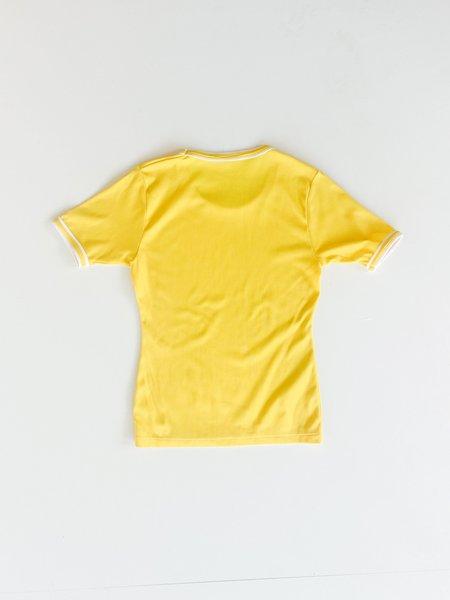 Vintage Stretch Tee - Lemon
