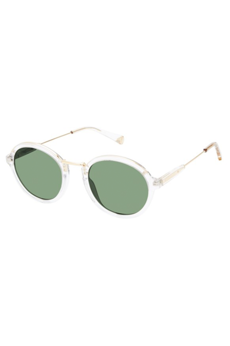 Kate Young for Tura Fiona Sunglasses - Crystal