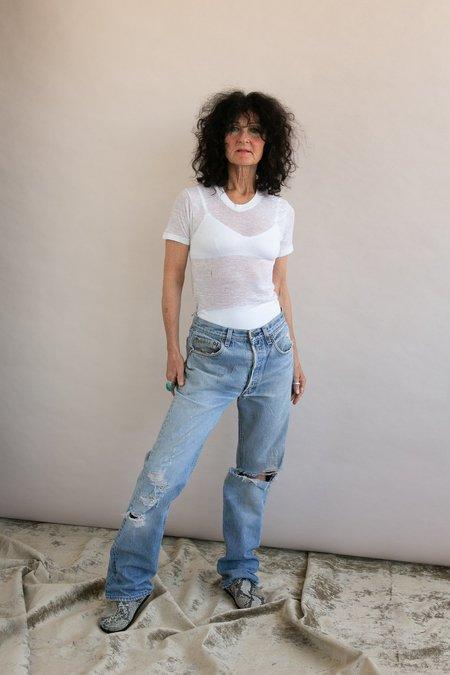 Vintage Levi Distressed 501 Jeans