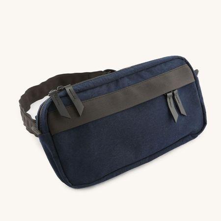Tanner Goods Canyon Cross Body Pack bag - navy Konbu