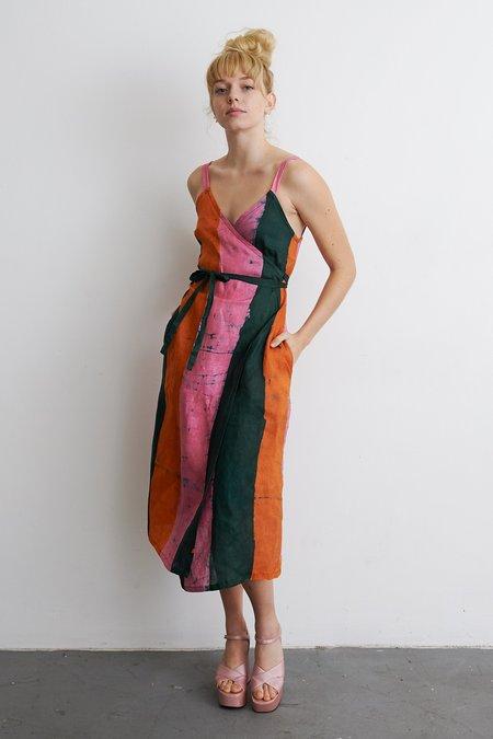 Osei-Duro Filini Dress - Carmine