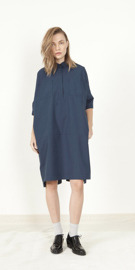 Schai Néhmo Shirtdress - Ink