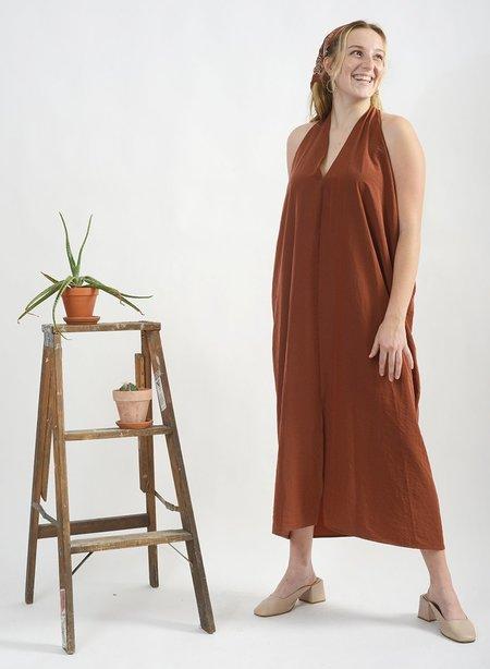 Meg Luis Halter Dress - Sienna