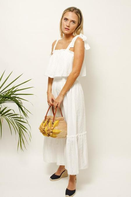 Dress Forum Ada Eyelet Midi Dress