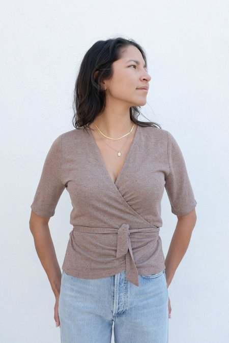 Eve Gravel Coyote Top - Lilac