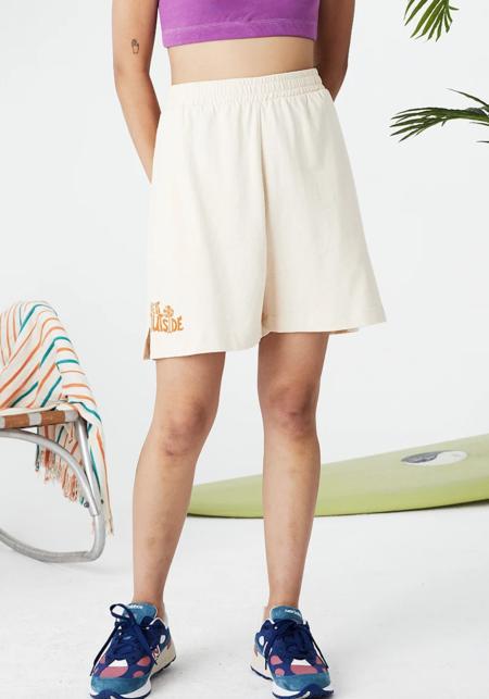Unisex Back Beat Co. Everybody Shorts - Take It Outside/Cream