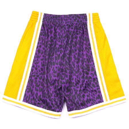Mitchell & Ness Wild Life Swingman Lakers Shorts - Purple