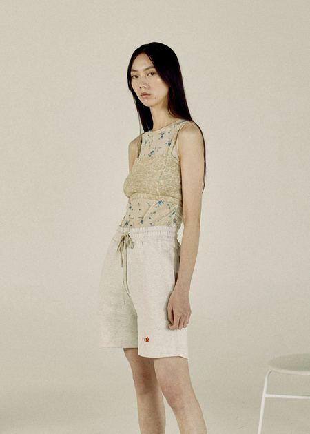 permanent vacation PV Blossom Shorts - Grey