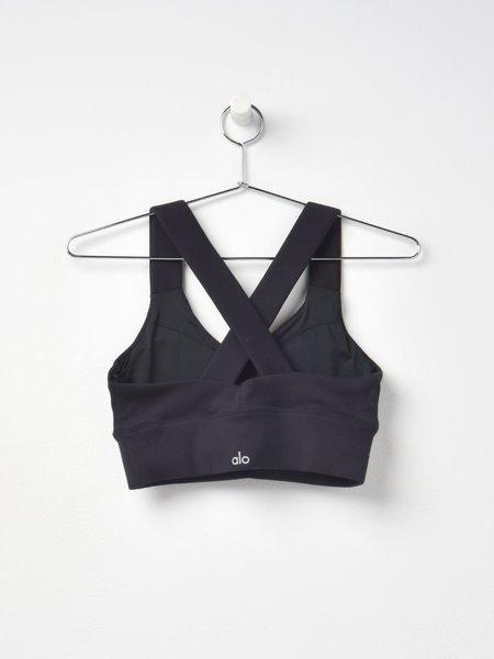 Alo Yoga EMULATE BRA - BLACK