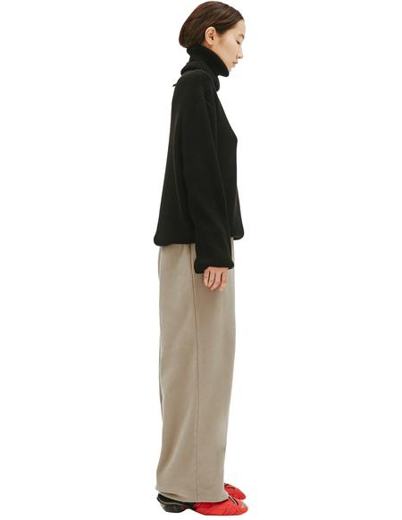 VETEMENTS Black Wool Sweater