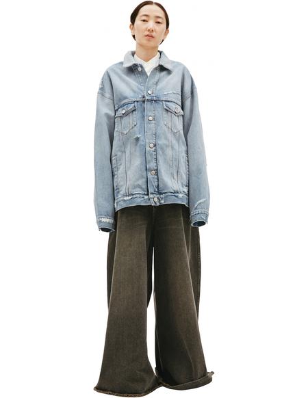 Balenciaga Denim Oversize Jacket