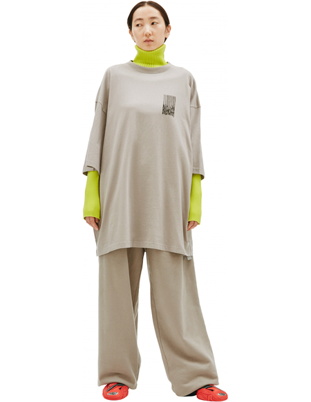 Balenciaga Printed Oversize T-shirt