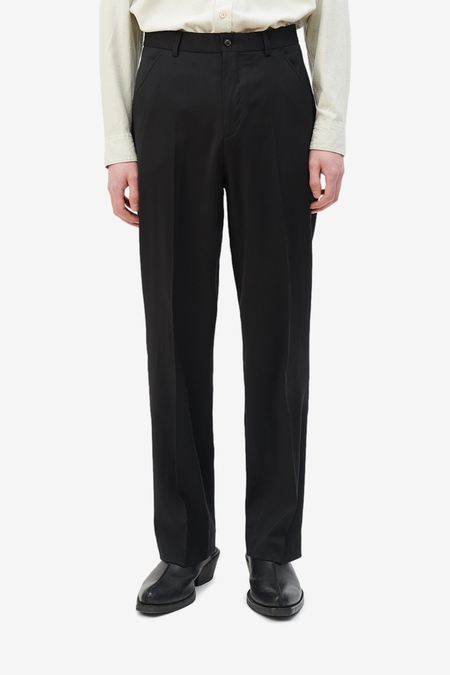 Our Legacy Chino 22 - Black Worsted Wool