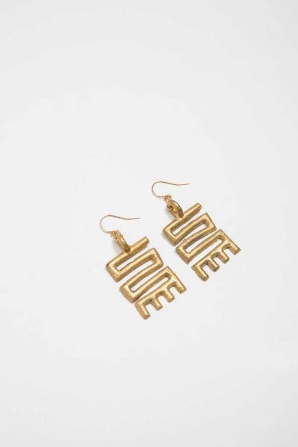 Osei-Duro Adinkra Earrings