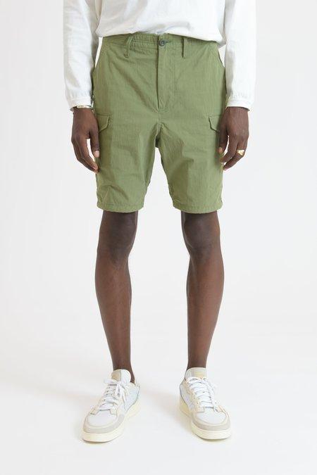 nonnative Trooper Bafu Cloth 6 Pocket Shorts - Olive