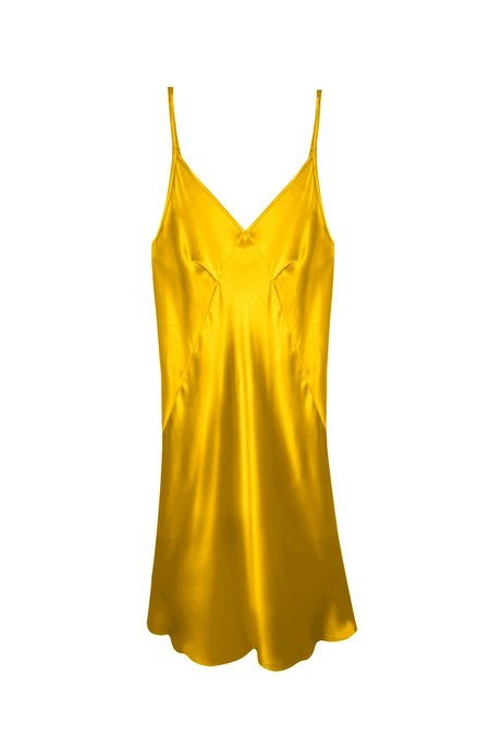 KES Mini Triangle Slip Dress - Aurum