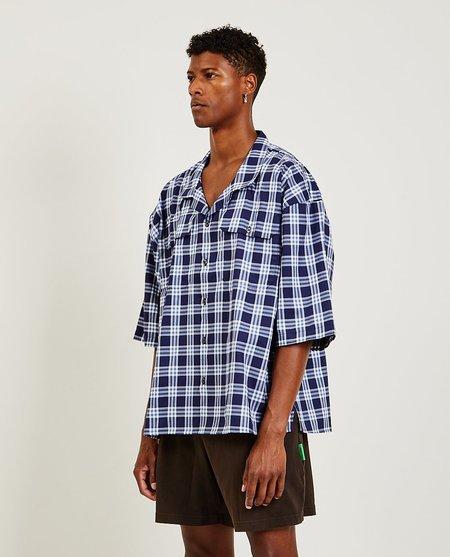 Willy Chavarria West Street Shirt - Plaid