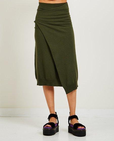 Kenzo Wrap Skirt - Army