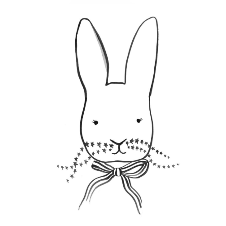 WONDER & RAH Dapper Bunny Print