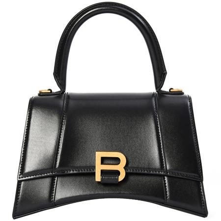 Balenciaga Black Small Hourglass Bag